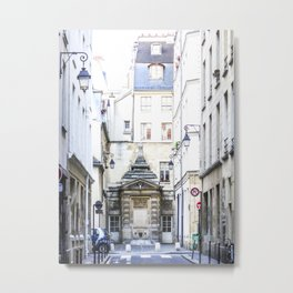 Paris Streets Metal Print