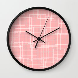 Off The Grid 01 Wall Clock