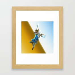 The legend of Zelda(Archer) Framed Art Print