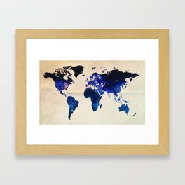 Big World Out There Framed Art Print