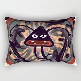 Evil Mandala Rectangular Pillow