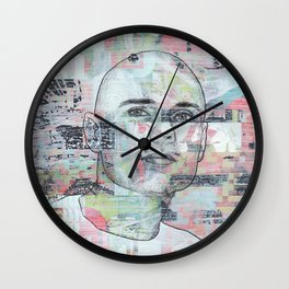 Billy Corgan - We Only Come Out at Night Wall Clock