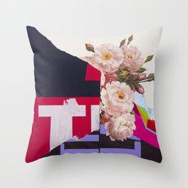 Corsage Throw Pillow