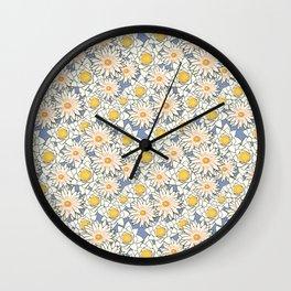 Lotus Flowers Festival Wall Clock