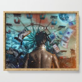 Astroworld Serving Tray