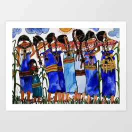 Sometimes we get tired of traditional life Art Print