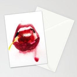 Cherry Lips Stationery Cards