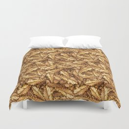 Atumn Leaves Oak Pattern Duvet Cover