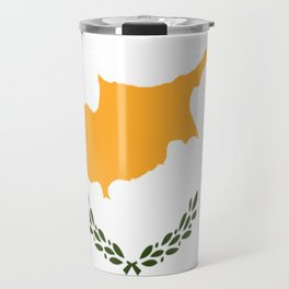 Flag of Cyprus Travel Mug