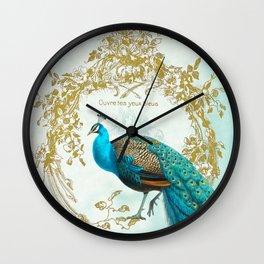 Peacock Mode Wall Clock