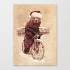 A Barnabus Christmas Canvas Print
