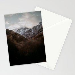 Misty Mountain Sunrise Stationery Cards