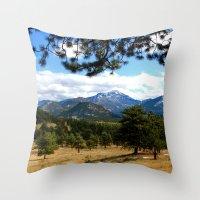 colorado Throw Pillows featuring Colorado  by Shelby Babbert Photography
