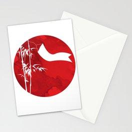 New Year Tree Bamboo Pole Vietnam Neu Stationery Cards