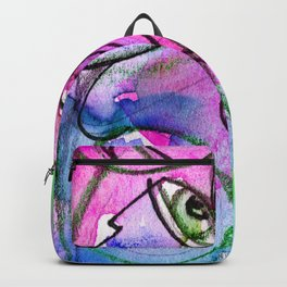 Abstract Nude Goddess No. 40E by Kathy Morton Stanion Backpack