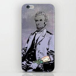 Inked Lincoln iPhone Skin