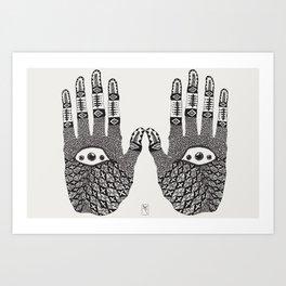 Hand Eye Coordination Art Print
