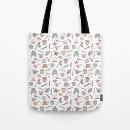 Cute Dungeons and Dragons Pattern Tote Bag