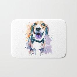 Sweet Beagle Bath Mat