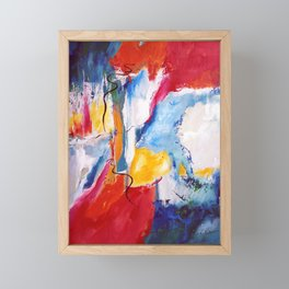 Come Down Isaiah 64 Christian Abstract Framed Mini Art Print