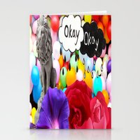 okay Stationery Cards featuring okay... by Aldo Couture