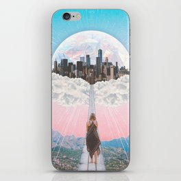 CITY OF PASTEL DREAMS III iPhone Skin