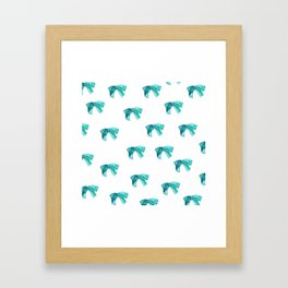 Lazos pattern Framed Art Print