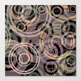 PATTERN-8 [gentle circles] Canvas Print