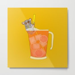 Sippin on Gin and Juice Metal Print