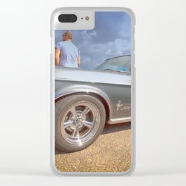 MUSTANG 302 Clear iPhone Case