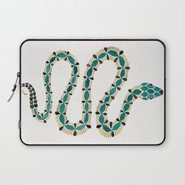 Emerald & Gold Serpent Laptop Sleeve