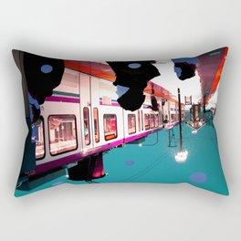 We Remain Undefinable. Rectangular Pillow