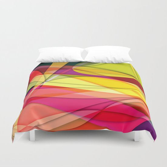 Abstract #367 Duvet Cover