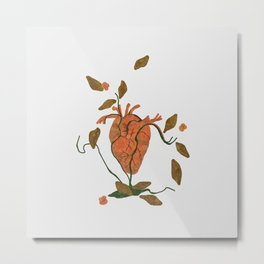 Find My Heart Metal Print