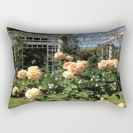 Huntington Roses: III Rectangular Pillow