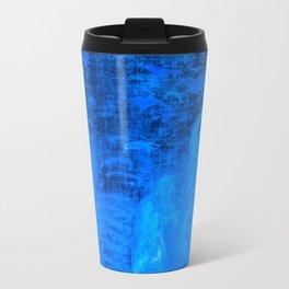 In liquid Indigo Travel Mug