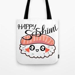 Happy Sashimi Tote Bag