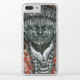 Jack O'Lantern from Nora Hamilton's Ghoul Closet Clear iPhone Case