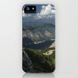 Kotor Bay in Montenegro iPhone Case