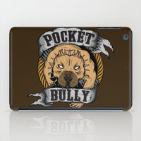 pocket iPad Cases featuring Pocket Bully by Pancho the Macho