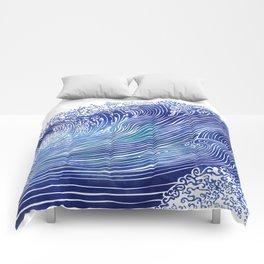 Pacific Waves Comforters