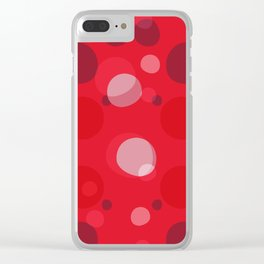 Roundels 02 Clear iPhone Case