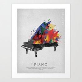 Symphony Series: The Piano Art Print