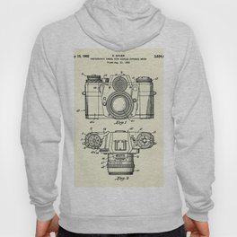 Photographic Camera with coupled exposure meter-1962 Hoody