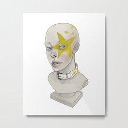 Starry Metal Print