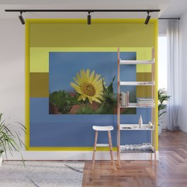 Sunflower Color Palette Wall Mural