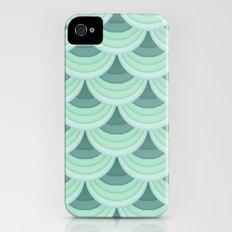 Ocean Fan Tail. Slim Case iPhone (4, 4s)