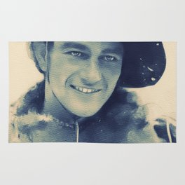 John Wayne, Hollywood Legend Rug