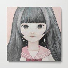 Mitsumeru☆Miracle Metal Print