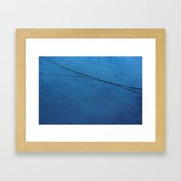 Harbour Arc Framed Art Print